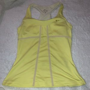 Nike workout tank with built in bra Medium